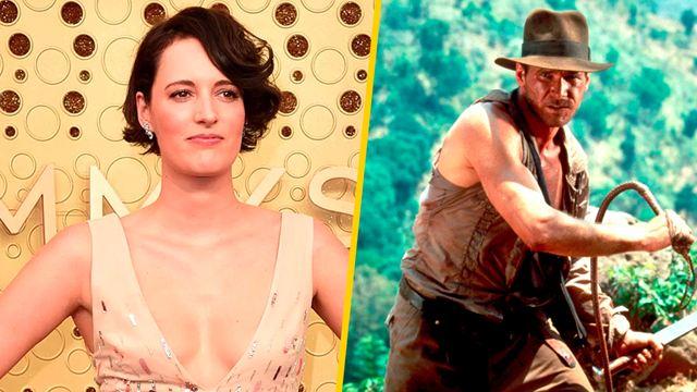 'Indiana Jones 5': Phoebe Waller-Bridge (protagonista de 'Fleabag') se une al elenco y se revela fecha de estreno de la película