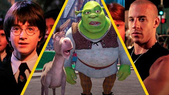'Shrek', 'Rápido y furioso' y 11 películas que cumplen 20 años en 2021