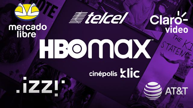 HBO MAX estará disponible a través de AT&T, Mercado Libre, Izzi, Telcel y Total Play