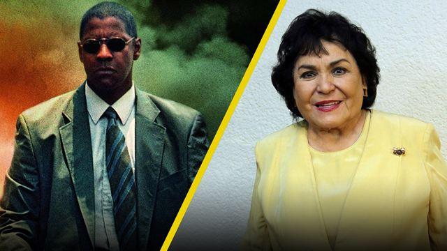 'Hombre en llamas' y la vez que Denzel Washington filmó con Carmelita Salinas en Ciudad de México