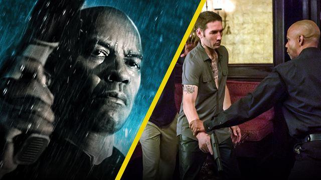 'El Justiciero': 10 imágenes detrás de cámaras sólo para verdaderos fans de la película con Denzel Washington