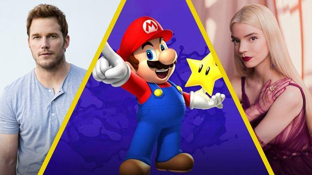 Chris Pratt, Anya Taylor-Joy y Jack Black se suman al elenco de la película de Mario Bros