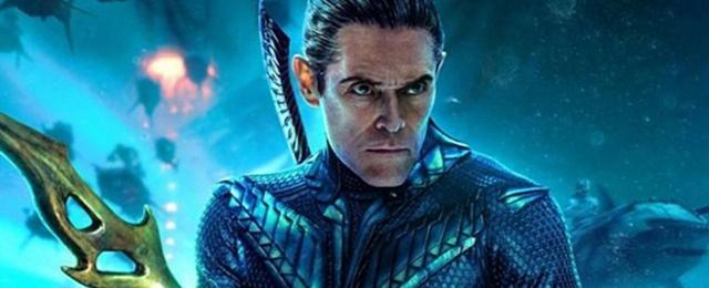 0261599 'Aquaman': Willem Dafoe feliz de regresar a los superhéroes