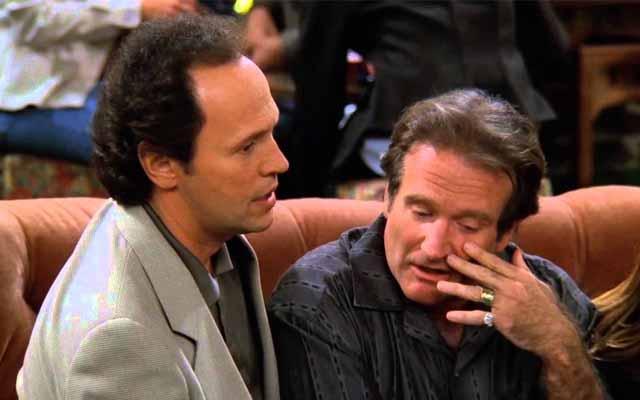 Billy Crystal y Robin Williams