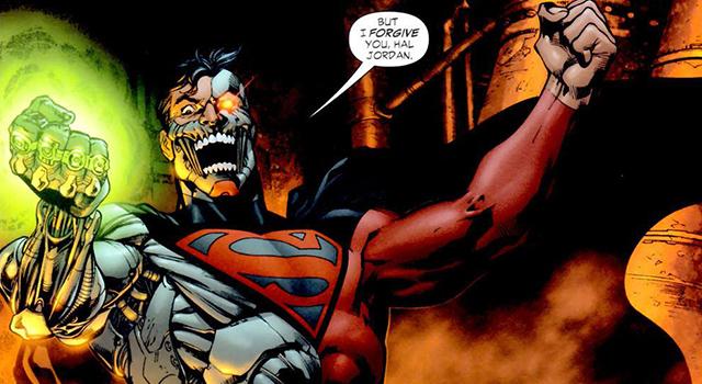 Superman-Cyborg Lantern