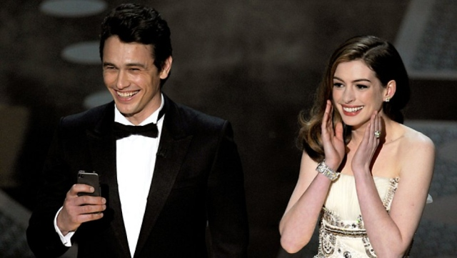 James Franco y Anne Hathaway - 2011
