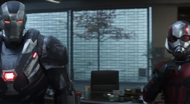 War Machine y Ant-Man listos