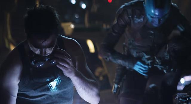 Tony Stark y Nébula