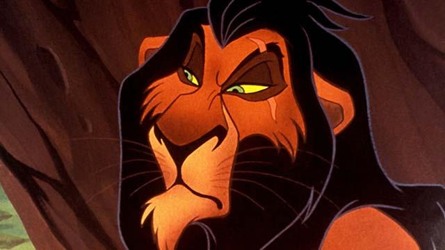Scar – 'El rey león'
