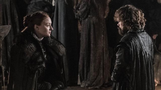 Sansa y Tyrion