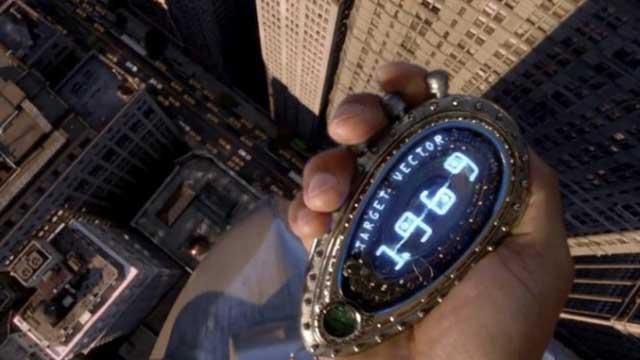 Reloj para viajar en el tiempo de bolsillo