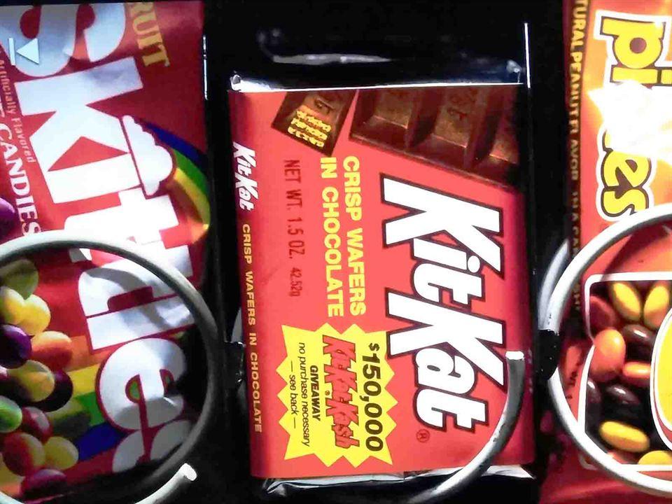 Skittles y Kit Kat