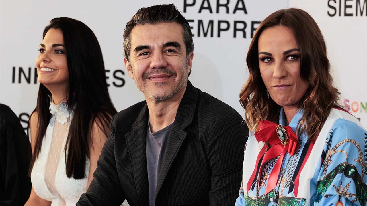 Adrián Uribe y Consuelo Duval