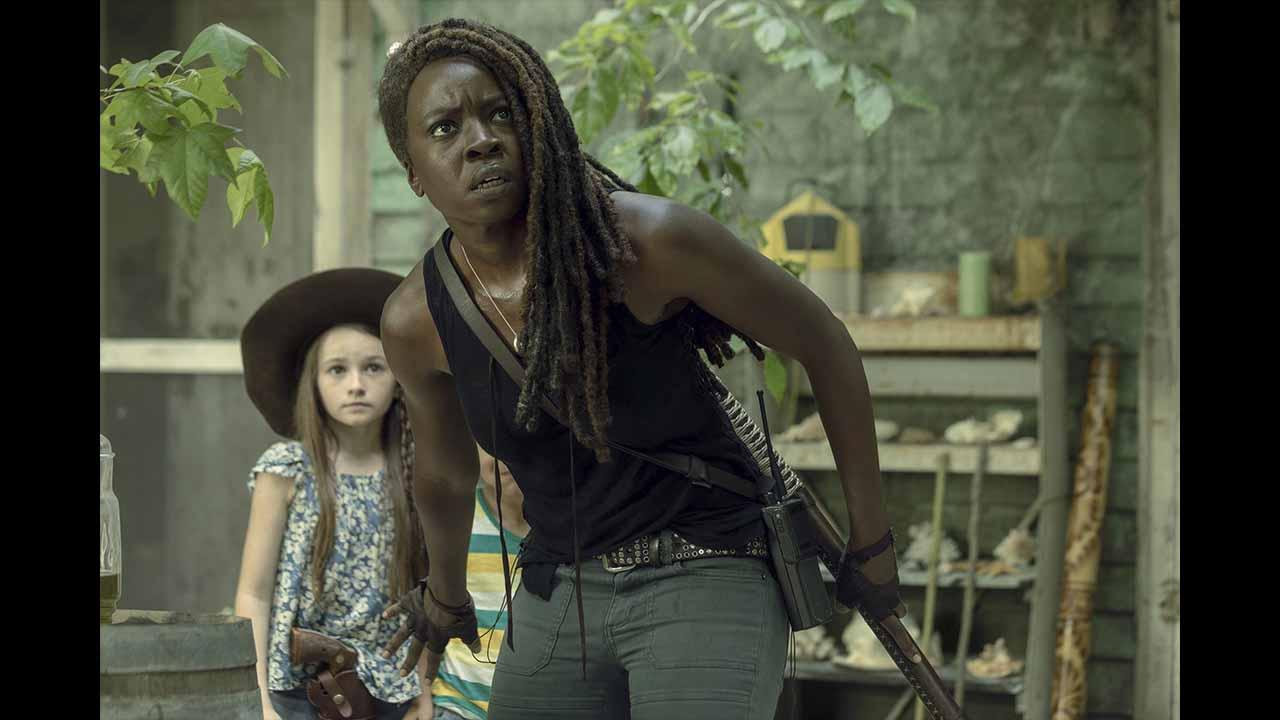 Michonne y Judith