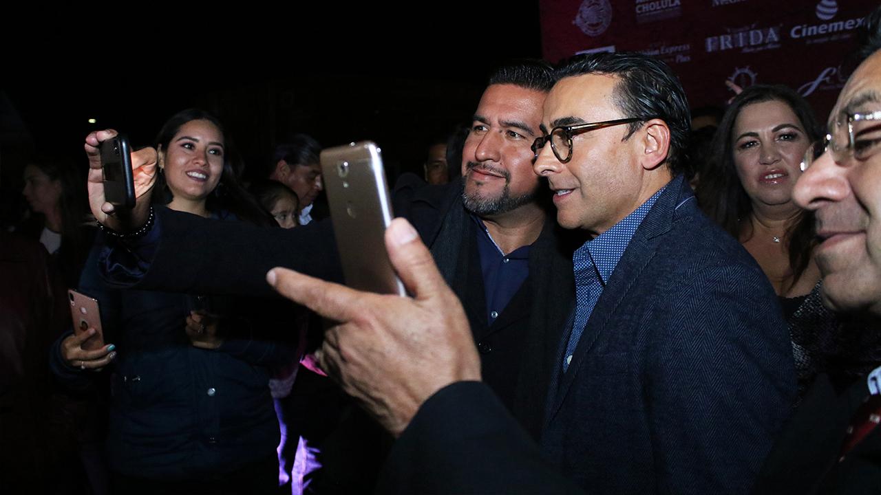 Fotos con los fans