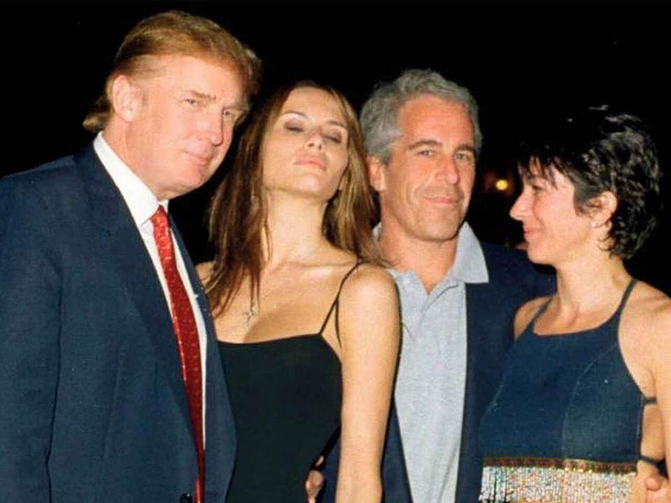 Donald Trump y Bill Clinton, amigos de Epstein