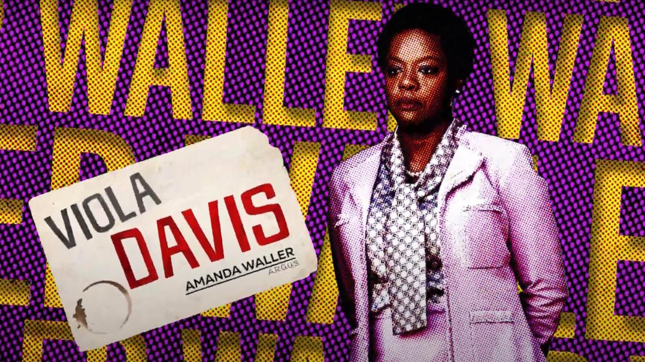 Viola Davis es Amanda Waller en 'El Escuadrón Suicida'