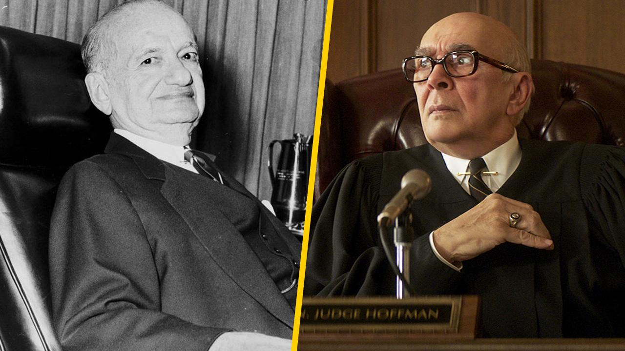 Frank Langella es Julius Hoffman en 'El juicio de los 7 de Chicago'