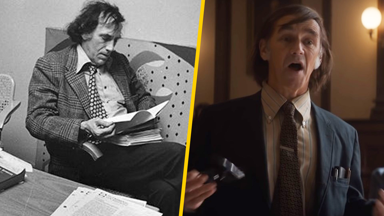 Mark Rylance es William Kunstler en 'El juicio de los 7 de Chicago'