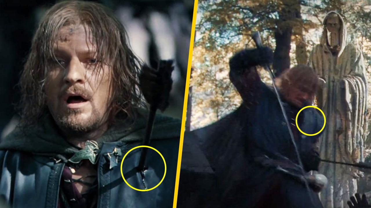 Las flechas de Boromir