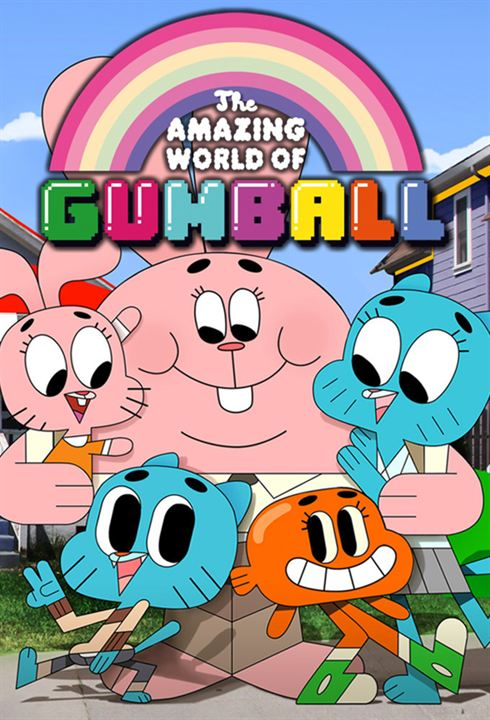 El increíble mundo de Gumball : Cartel
