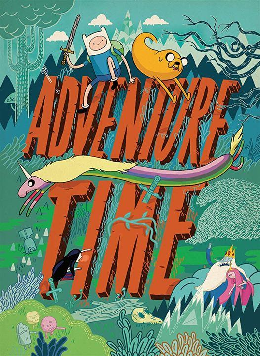 Hora de aventura : Cartel