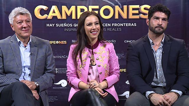 Entrevista a Chucho Ramírez y los protagonistas de Campeones