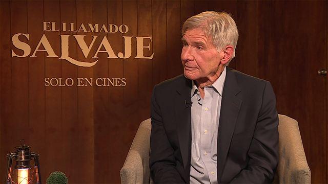 'El llamado salvaje': Entrevista a Harrison Ford